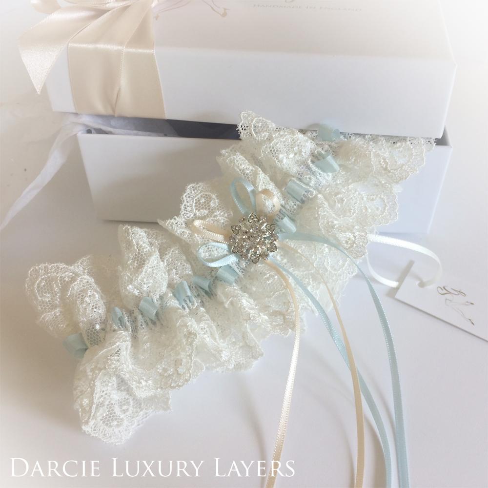 darcie wedding garter luxury english lace light