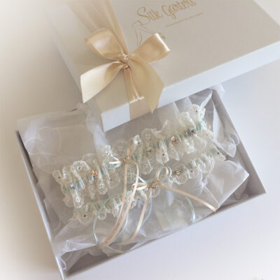 Meghan wedding garter set