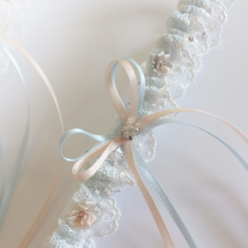 Handmade toss garter Meghan
