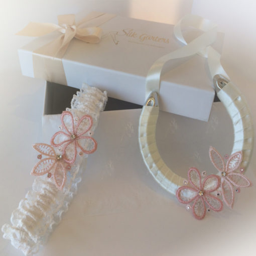Eloise wedding garter set