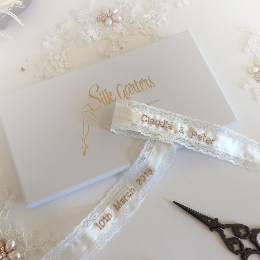 personalised garter